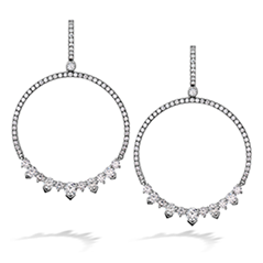 Aerial Eclipse Diamond Earrings