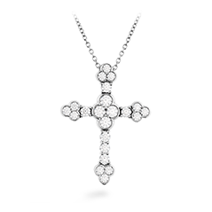 Effervescence Diamond Cross Pendant