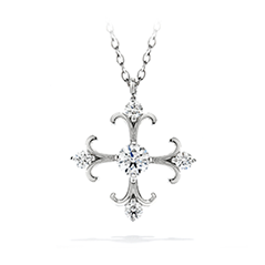 Fairy Tale Cross Pendant Necklace