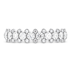 Gracious Bezel Diamond Band