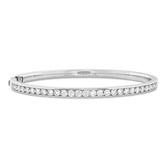 HOF Classic Channel Diamond Bangle - 270