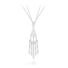 Triplicity Tassel Drop Necklace