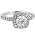 Euphoria Pave Engagement Ring view 3